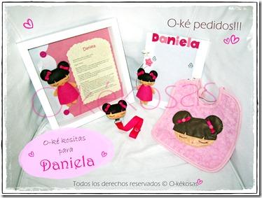 O-ké kositas para... Daniela.