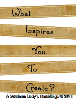 What inspires you to create