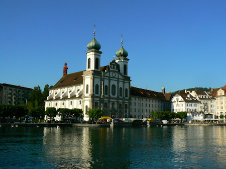 Sights of Lucerne: The Jesuits church