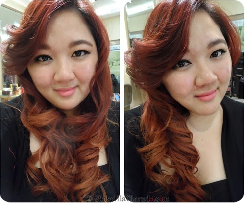 Priscilla Tresemme Keratin Treatment blogger hair result