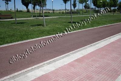 #Parla, la ciudad sin ley - carril bici parla 2