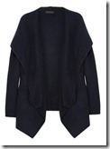 Donna Karan hooded cashmere cardigan
