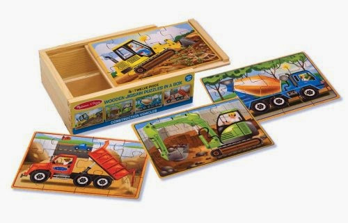 melissa and doug 4 puzzle set