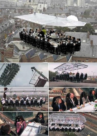 Restaurant in the Sky ( Belgium )