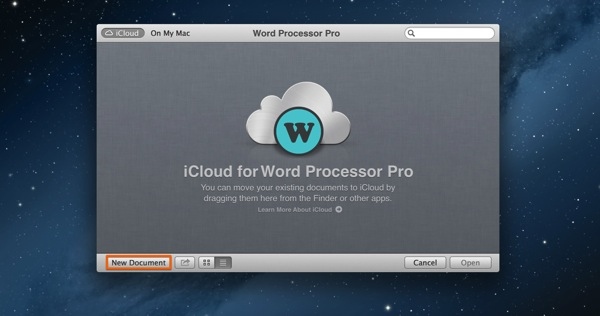 Mac app productivity word processor pro1