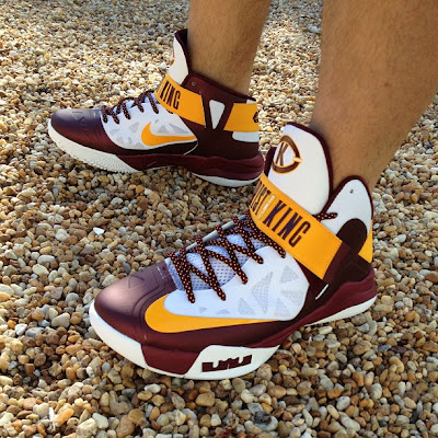 nike zoom soldier 6 pe christ the king home 1 02 First Look at Nike Zoom Soldier VI Christ the King Home PE