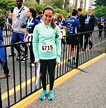 Amy RBC 25K Race