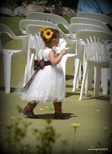 Little flower girl