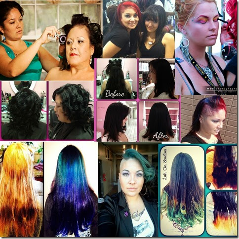 collage cia hair