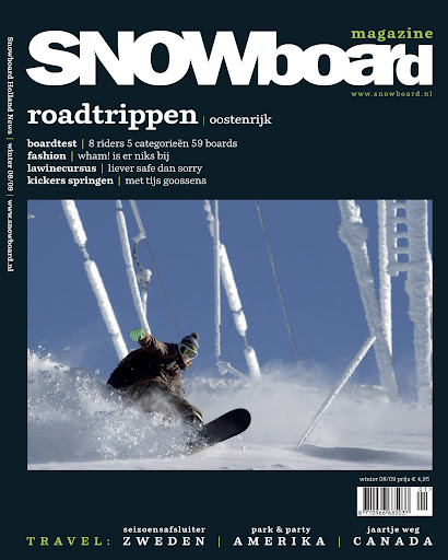 2008/2009 Snowboard Magazine.