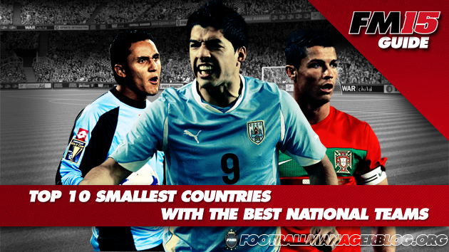 Top 10 Smallest Countries With The Best National Teams