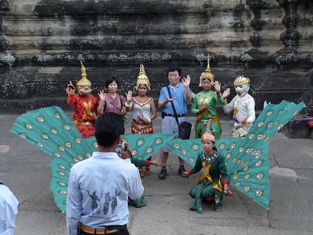 Obiective turistice Cambogia: poze cu apsara