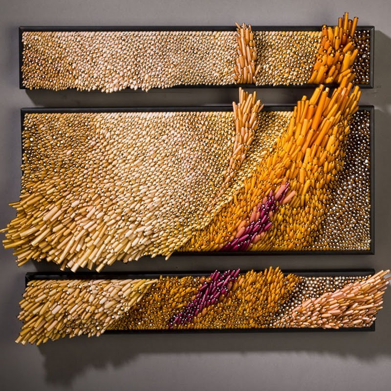 Stunning Glasswork by Shayna Leib