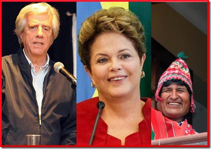 Tabare - Dilma - Evo