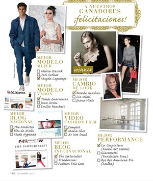 susana fashion awards 2012