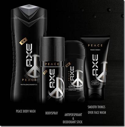 Axen Peace-tuotesarjaa...