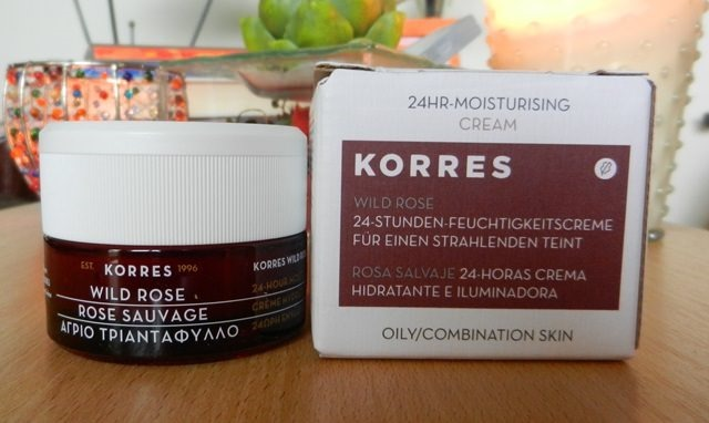 Korres Wild Rose 24HR-Moisturising Cream
