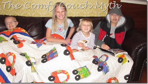 The Comfy Couch Myth @ Homeschooling Hearts & Minds