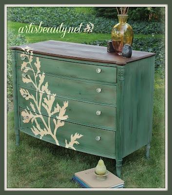 art is beauty fern dresser-001