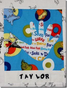 Mrs. Francis' Dr. Seuss Quilt 006