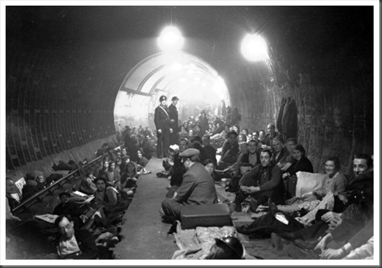 Aldwych tube station air raid shelter