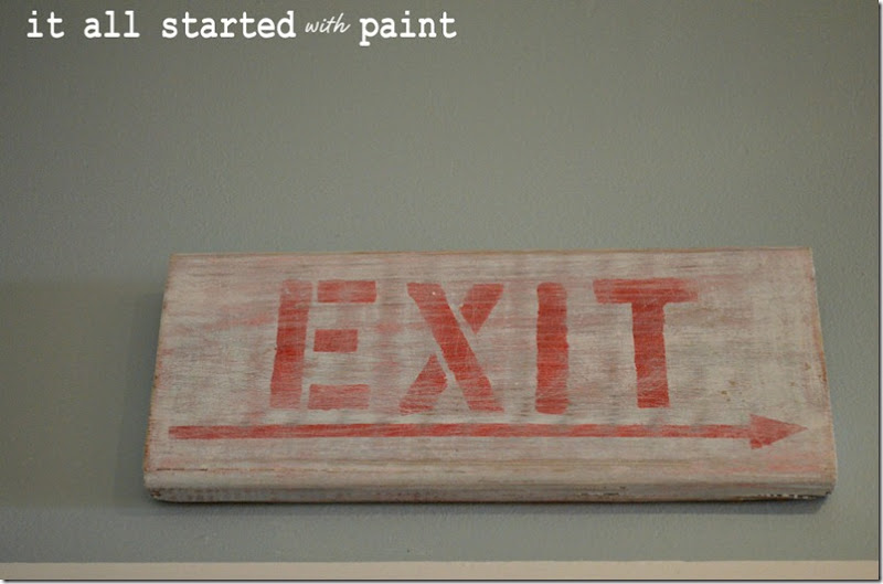exit-sign-weathered-white-washed