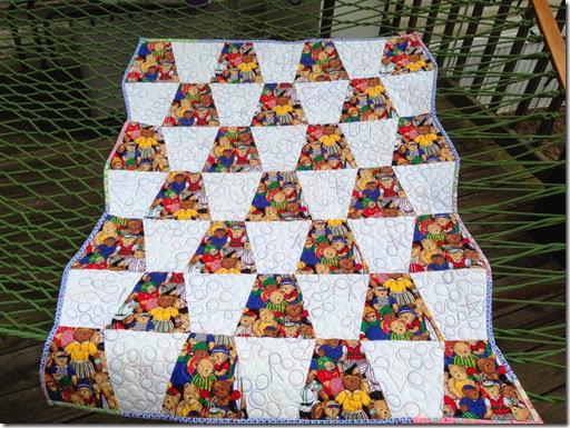baby quilt bound