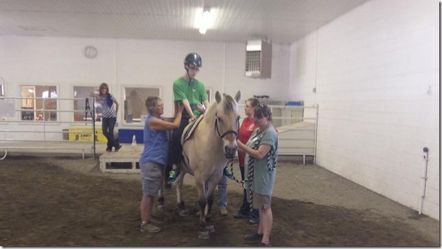 Wes July 9 horseback 1