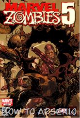 Actualización 05/04/2015: Marvel Zombies - Lee Brako nos trae Marvel Zombies 5, con 5 numeros en PDF maquetados por Darkthor y traducido por RakionPJ de L9D.