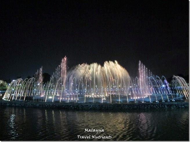 沙巴亞庇丹容亞路海灘夕陽 Perdana Park音樂水舞 (29)