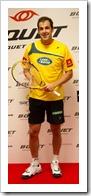 Juan Martín Díaz participa en la presentación del nuevo deporte de raqueta BQUET.