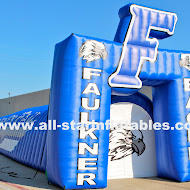 Faulkner Eagles football Inflatable Arch Combo.JPG