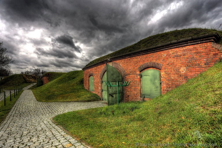 Fort VII Gaskammer von außen