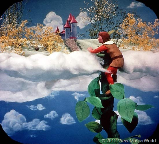 View-Master Three Fairy Tales featuring Jack and the Beanstalk (B314), Scene 3