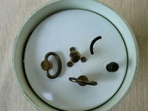 Emes Roturno alarm clock bottom mechanism
