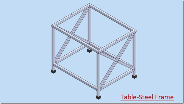 Table-Steel Frame_2