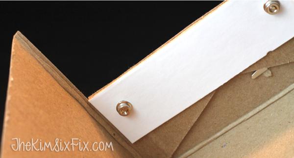Folding down cardboard box
