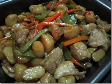 MB's cashew chicken, 240baon