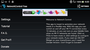 Screenshot of Network Control Free