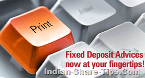 icici bank fixed deposit self printing facility
