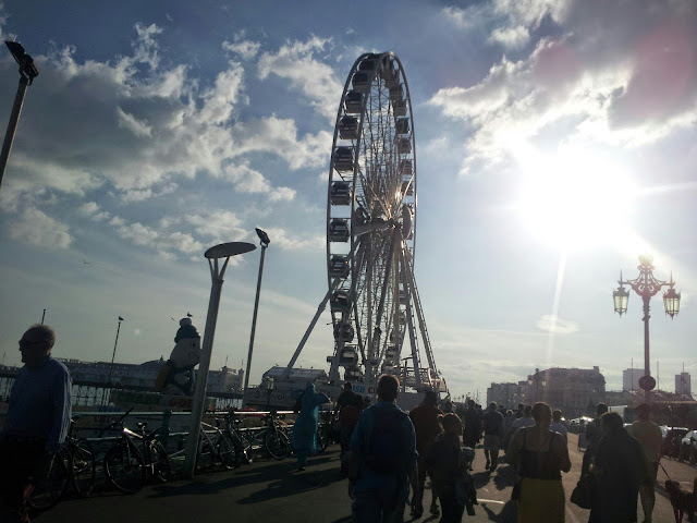 Brighton wheel seaside