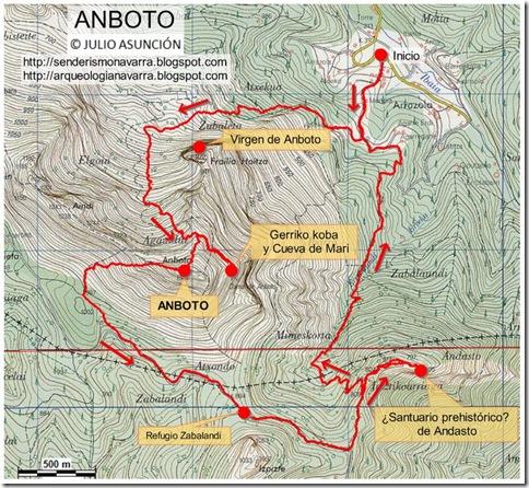 Mapa ANBOTO - Julio Asunción