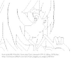 [AA]Shokuho Misaki (Toaru kagaku no railgun)