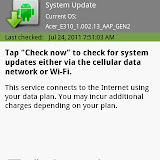 Update Notification update is an app that checks for any system updates released by Acer. Very useful