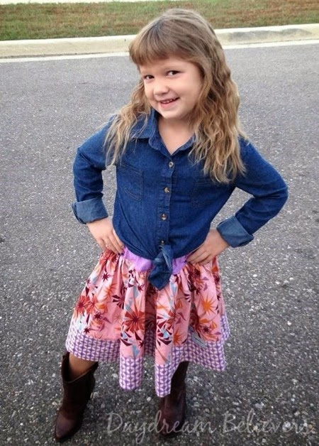 Daydream Believers handcrafted clothing for girls  Isabel