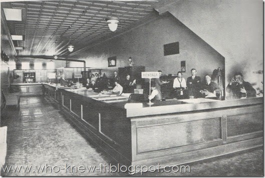 Levy Bros Office 1920