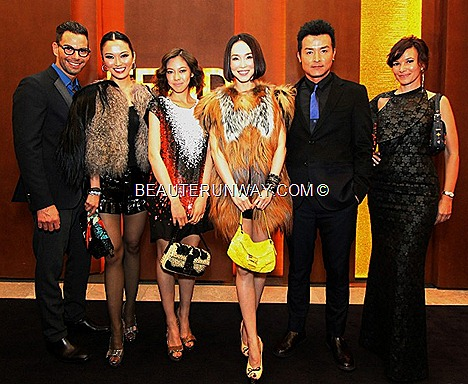 FENDI BAGUETTE Gialla, Tucano, Limited Re-Edition Paglia, Specchietti, BAGS Zucca, Jeans, BOOK Fall Winter 2012 2013 rtw collection fur accessories FENDI celebrities Bobby Tonelli Joanne Peh Olivia Ong Fann Wong Christopher Lee