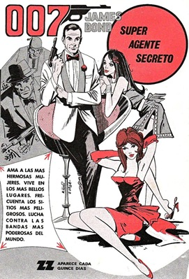 zig zag james bond comic book ad