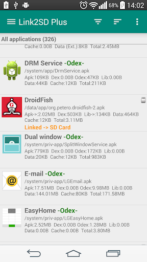 link2sd for android screenshot