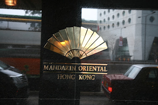 I stayed at the Mandarin Oriental on a recent trip to China.